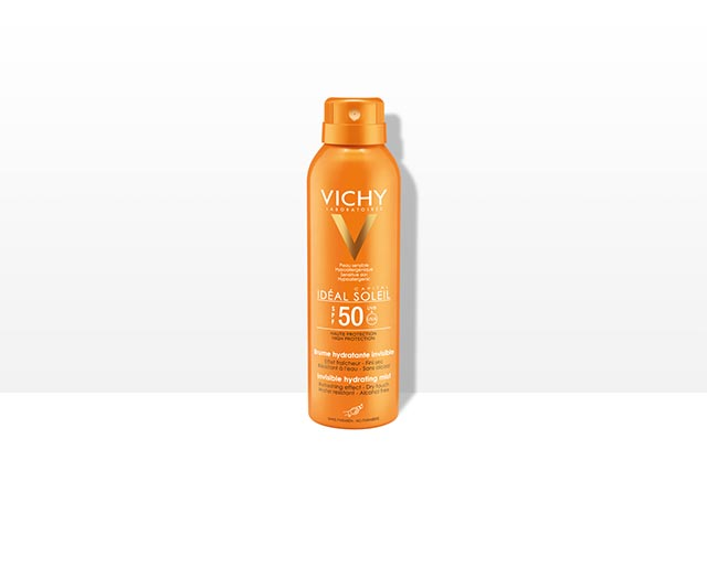 INVISIBLE HYDRATING MIST SPF50+