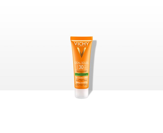 ANTI-IMPERFECTIONS ANTI-BLEMISHES MATTIFYING CORRECTIVE CARE SPF30